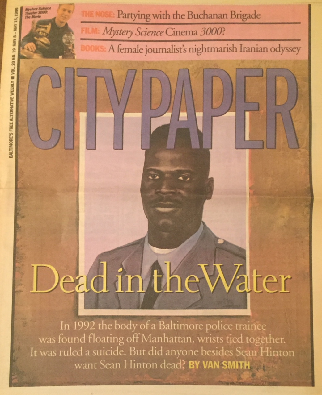 Dead in the Water: In 1992, the Body of a Baltimore Police